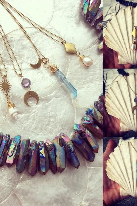 Beautiful Boho || Yoga girl || Necklace || Dainty || statement necklace || Summer Vibes || lovely necklace || choose your style